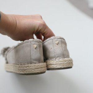 Sam Edelman Shoes - Sam Edelman tan tassel espadrille ISSA flats